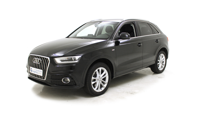 voiture audi q3 2 0 tdi 140 s line offre sp ciale options occasion diesel 2015 13634 km. Black Bedroom Furniture Sets. Home Design Ideas