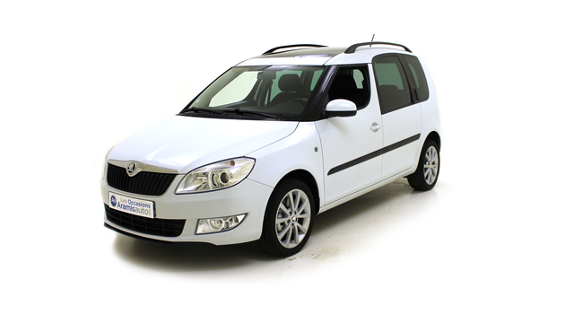 voiture skoda roomster 1 2 tsi 105 tour de france occasion essence 2014 1556 km 13990. Black Bedroom Furniture Sets. Home Design Ideas