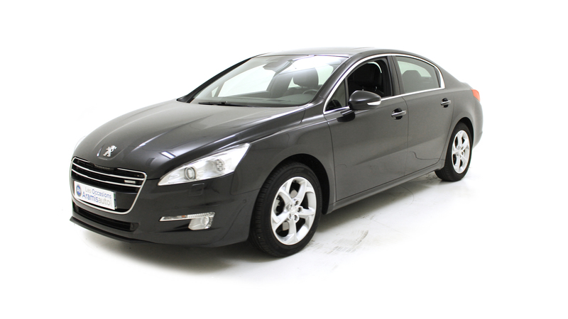 voiture peugeot 508 hybrid4 2 0 hdi 163 f line bmp6 occasion hybride 2011 54845 km 19490. Black Bedroom Furniture Sets. Home Design Ideas