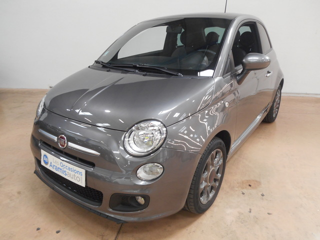 voiture fiat 500 1 2 69 s radar ar occasion essence 2014 13032 km 10290 nice. Black Bedroom Furniture Sets. Home Design Ideas