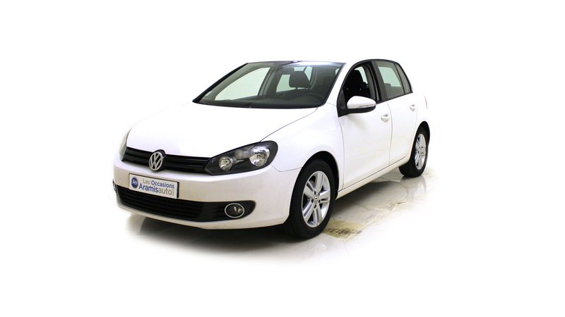 voiture volkswagen golf 1 6 tdi 105 fap trendline sur quip e occasion diesel 2011 47802 km. Black Bedroom Furniture Sets. Home Design Ideas