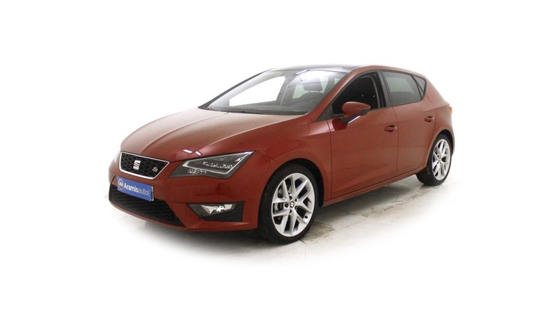 voiture seat leon 2 0 tdi 150 fr sur quip e occasion. Black Bedroom Furniture Sets. Home Design Ideas