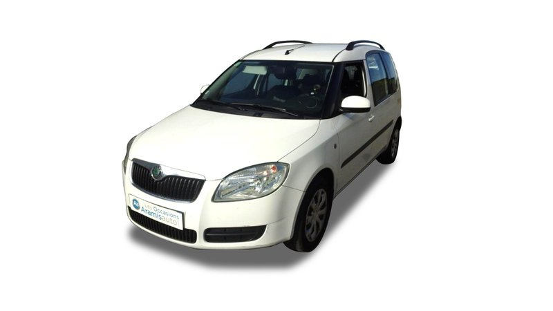 voiture skoda roomster 1 9 tdi 105 ambiente radar ar occasion diesel 2009 69485 km. Black Bedroom Furniture Sets. Home Design Ideas