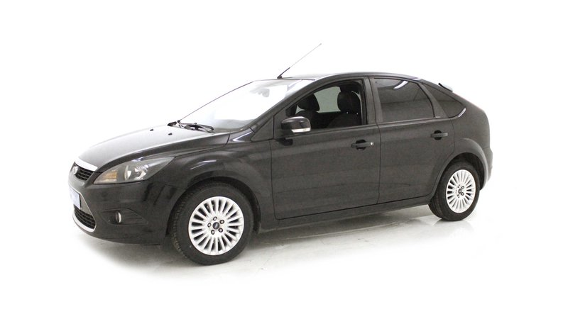 voiture ford focus 1 8 tdci 115 titanium occasion diesel 2009 103550 km 8190. Black Bedroom Furniture Sets. Home Design Ideas