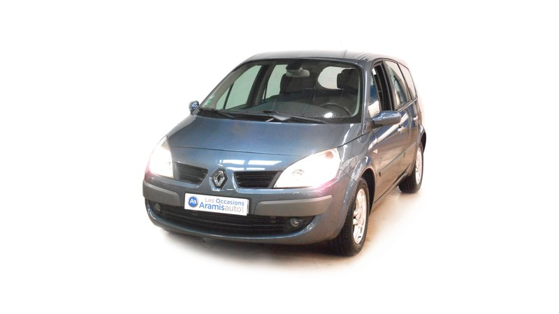 voiture renault grand sc nic iii 1 9 dci 130 exception 5 pl occasion diesel 2008 111895 km. Black Bedroom Furniture Sets. Home Design Ideas