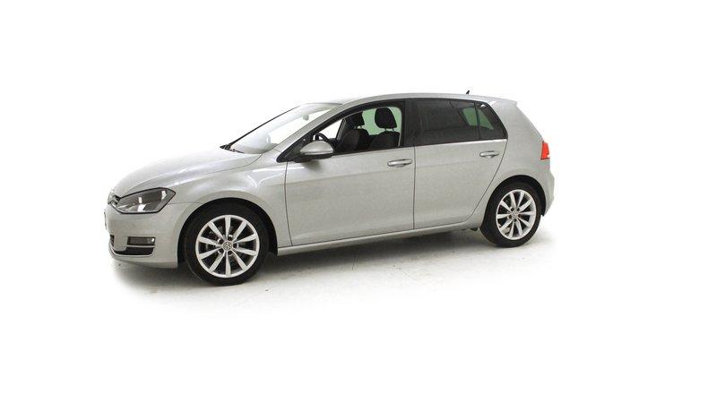 voiture volkswagen golf 1 6 tdi 105 dsg7 confortline gps jantes 17 occasion diesel 2012. Black Bedroom Furniture Sets. Home Design Ideas