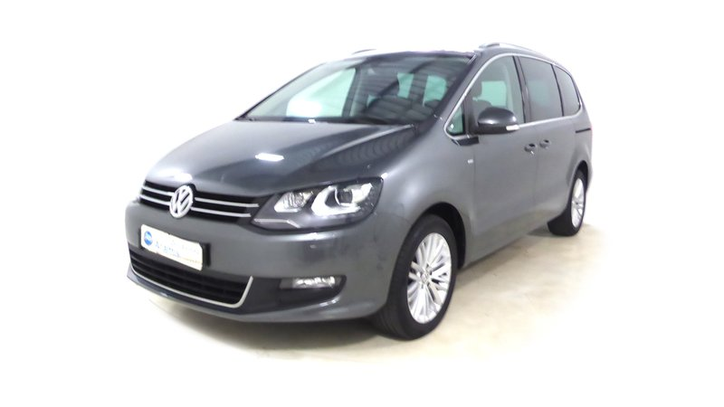 voiture volkswagen sharan 2 0 tdi 140 cup gps 7 places occasion diesel 2015 23182 km. Black Bedroom Furniture Sets. Home Design Ideas