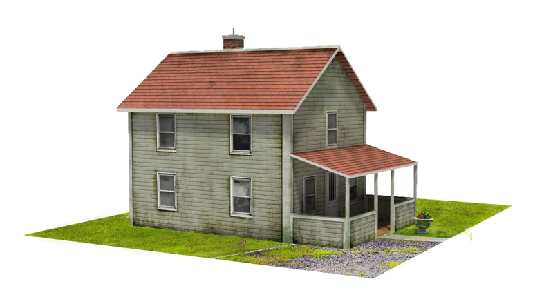 Making a model of a house
