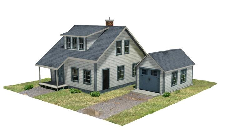 Make a model of a house