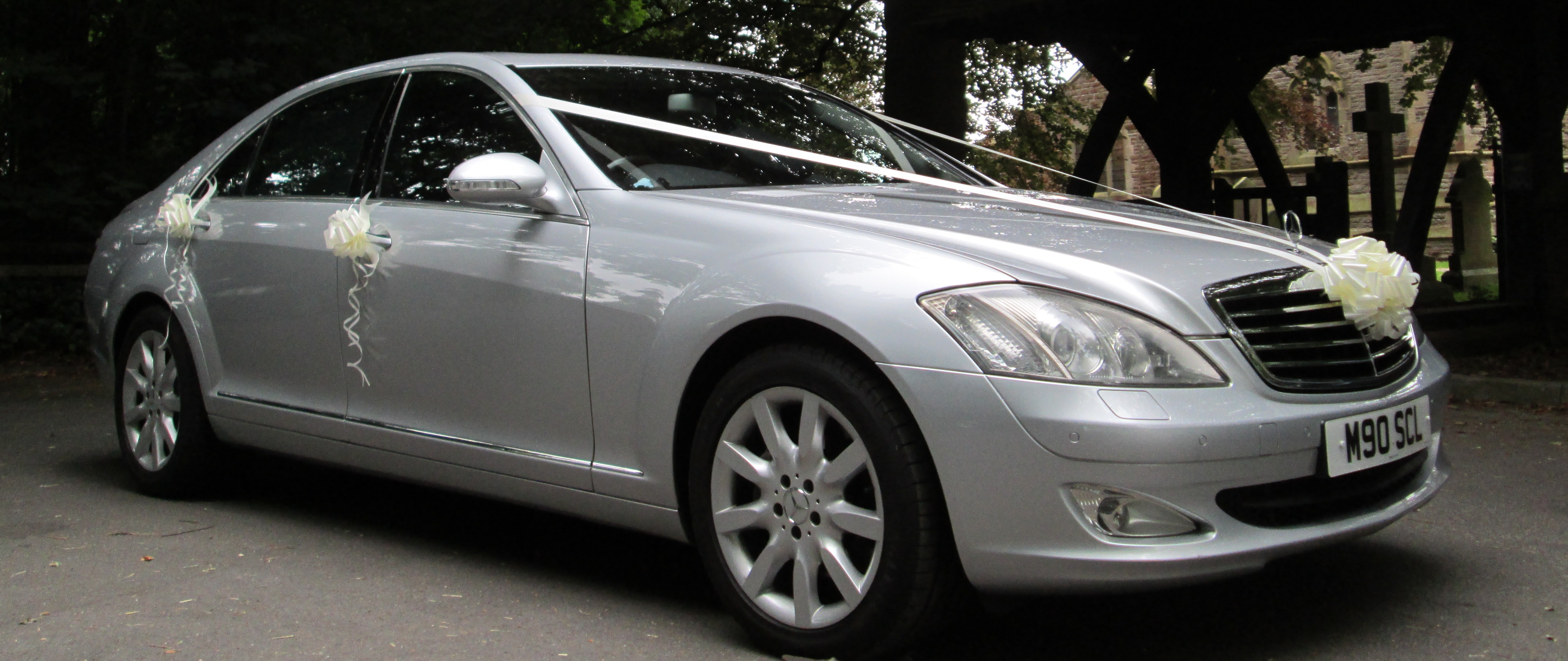 Mercedes S Class Wedding Car Hire Blackpool