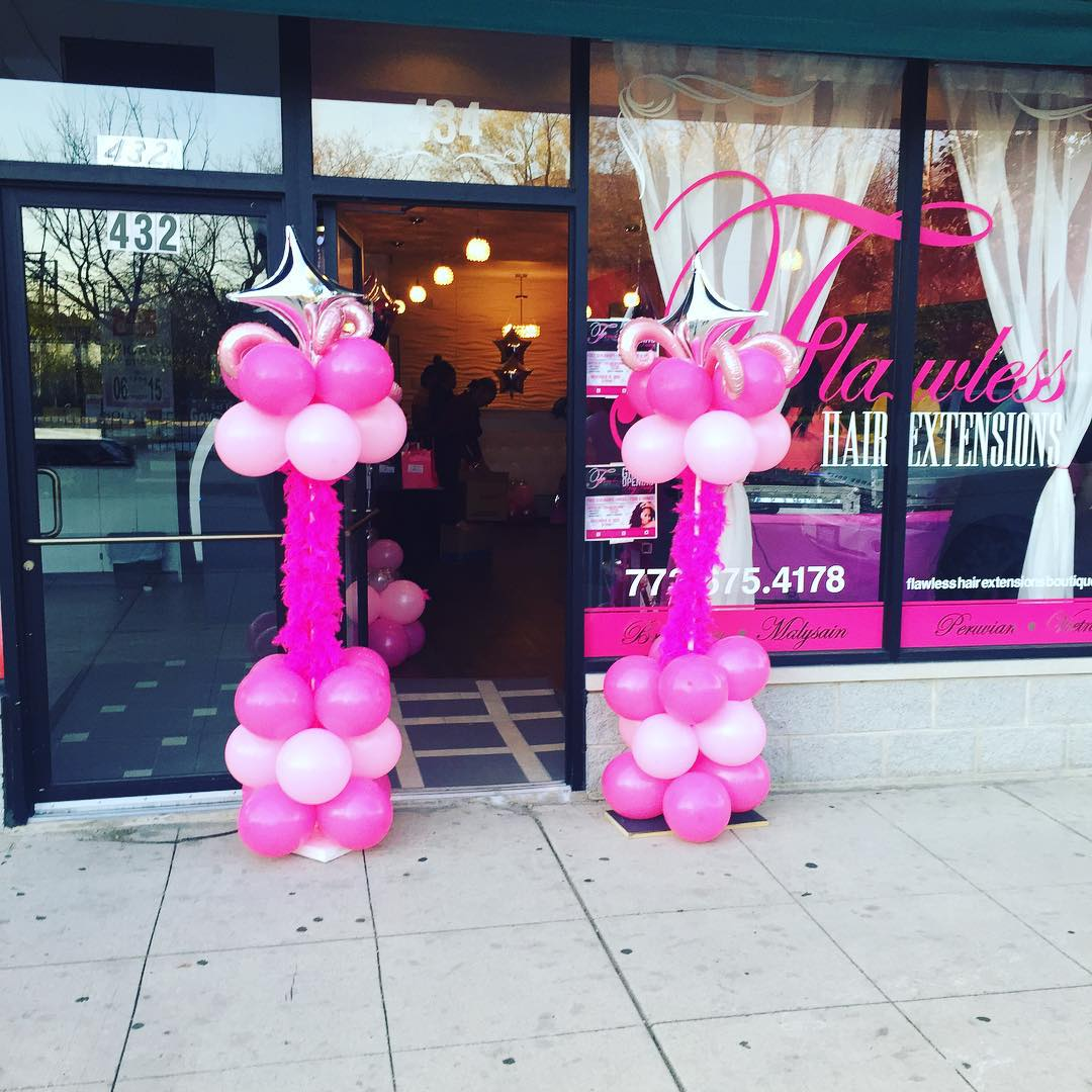 Flawless Hair Extensions Boutique Gallery