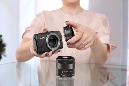 Canon EOS M marketing image