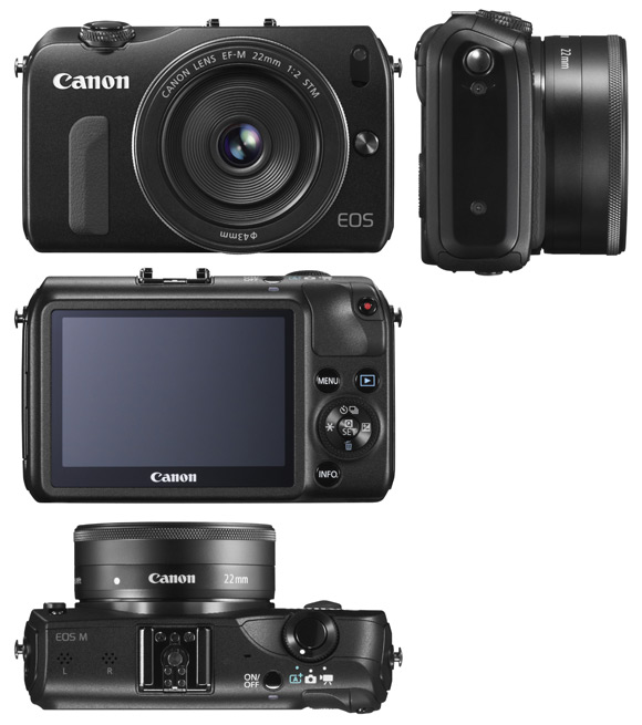 EOS M with  EF-M 22mm f/2 STM lens
