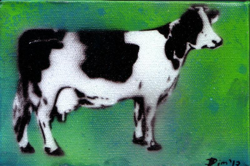 Happy Cow by Dim Media