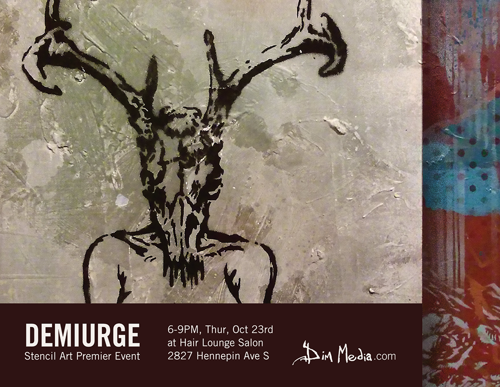 Demiurge - New Stencil Paintings