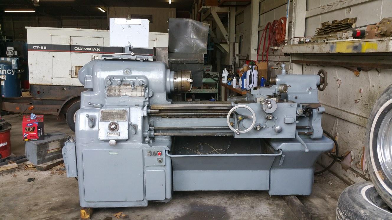 Lathes Dimond Machinery Leblond Lathe Wiring Diagram Monarch Metal Model No 61 1330