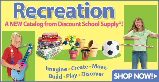 A NEW Catalog From Discount School Supply&reg;