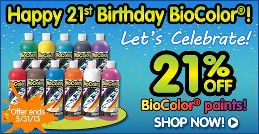 Happy 21st Birthday BioColor®!