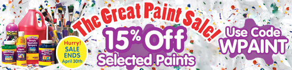 The Great Paint Sale!