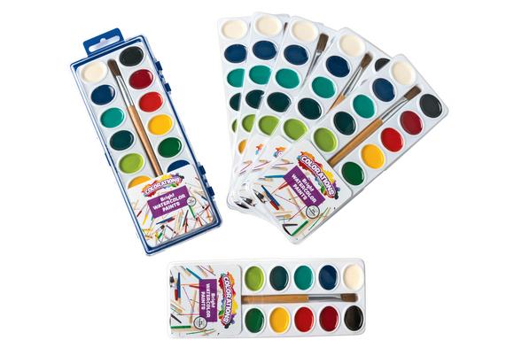 Colorations® 16 Color Best Value Regular Watercolor Paints