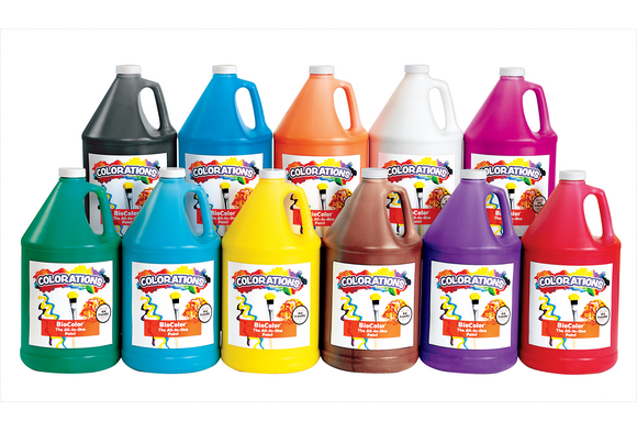 BioColor® Paint, 1 Gallon - Set of 11