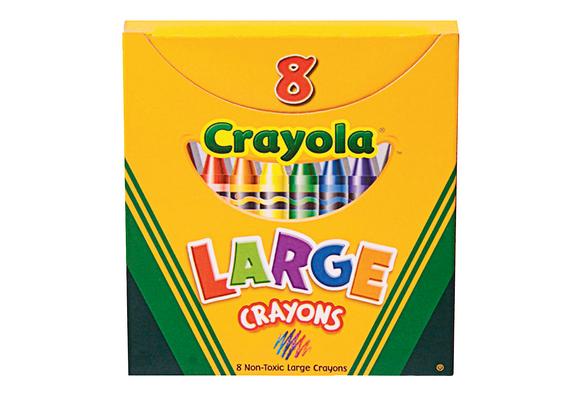 Crayola® Large Crayons - Set of 8