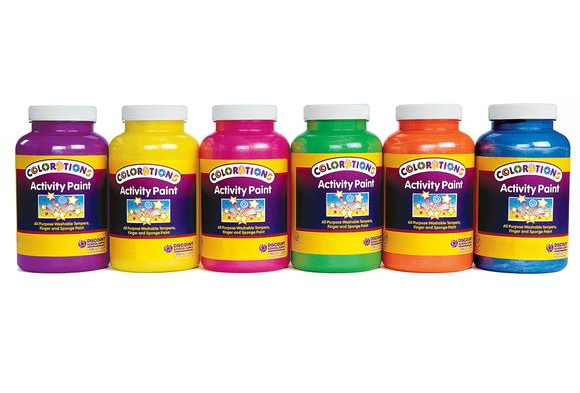 Colorations® Sparkle Activity Paints, 16 oz. - Set of 6