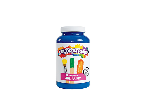 Colorations® Activity Paint, Fluorescent Blue - 16 oz.