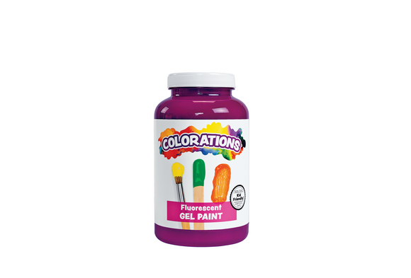 Colorations® Activity Paint, Fluorescent Purple - 16 oz.