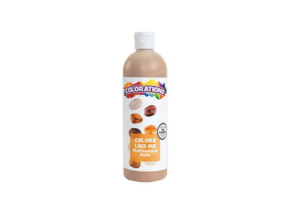 Colorations® Colors Like Me® Multicultural Paint, Chocolate - 16 oz.