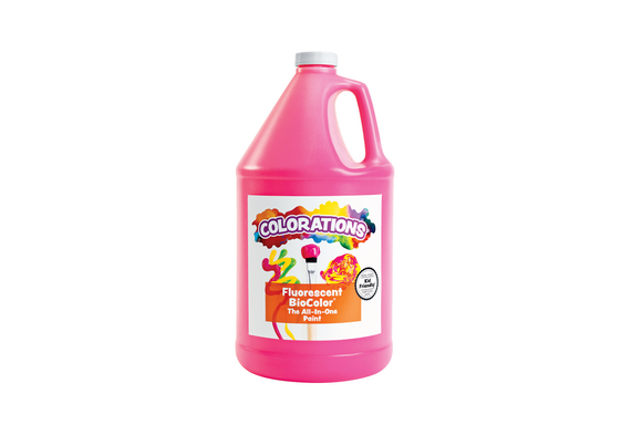 BioColor® Paint, Fluorescent Pink - 1 Gallon