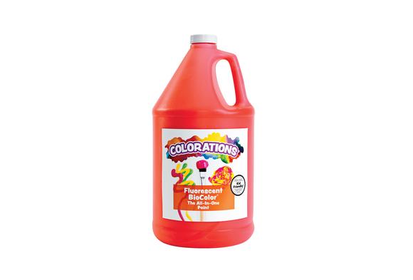BioColor® Paint, Fluorescent Red - 1 Gallon