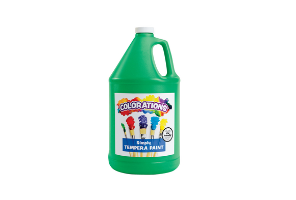 Colorations® Simply Tempera Paint, Green - 1 Gallon