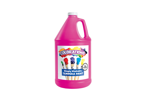 Colorations® Simply Washable Tempera Paint, Magenta - 1 Gallon
