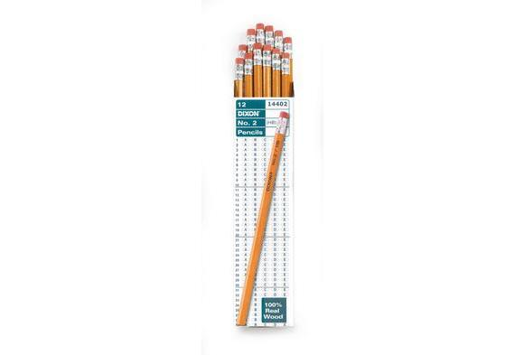 Dixon® No.2 Pencils - Set of 12