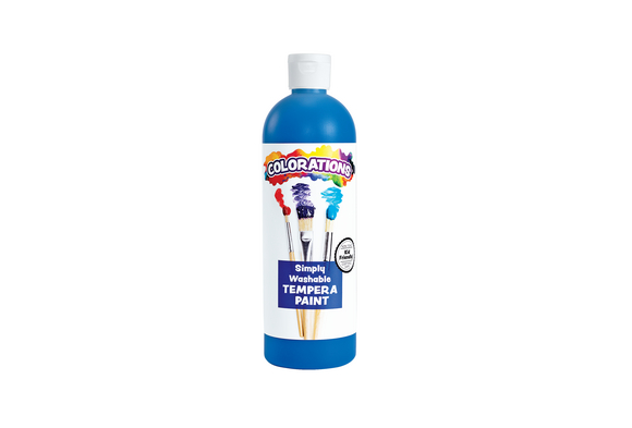 Colorations® Blue Simply Washable Tempera, 16oz.