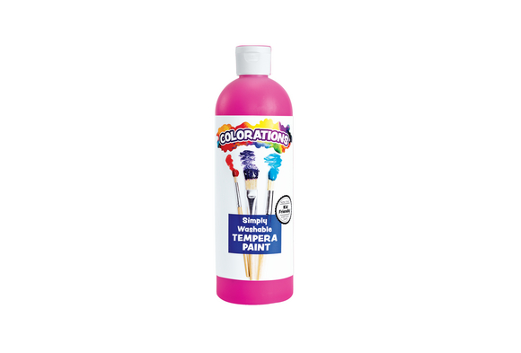 Colorations® Magenta Simply Washable Tempera, 16oz.