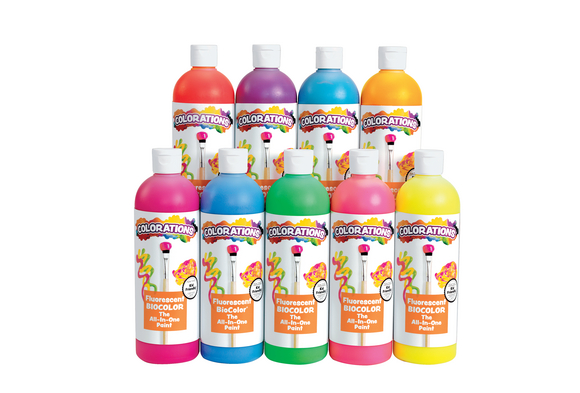 BioColor® Fluorescent Paint - 16 oz.