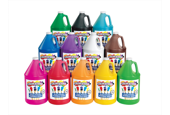 Colorations® Simply Washable Tempera Paint - Gallon