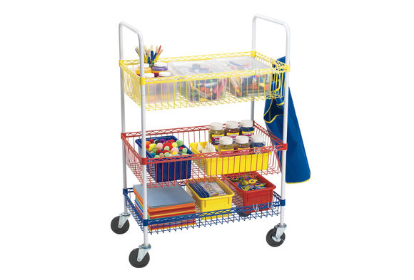 Colorations® Heavy-Duty Classroom Art Cart