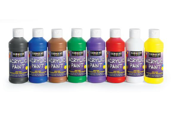 Sargent Art® Acrylic Paints, 8 oz. - Set of 8