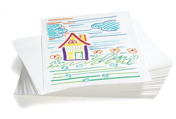 White Sulphite Paper - 500 Sheets