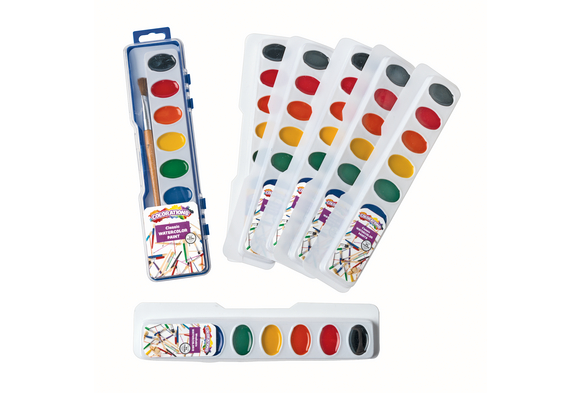 8 Best Value Washable Watercolors & Refill Sets