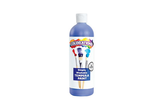 Colorations® Periwinkle Simply Washable Tempera, 16oz.