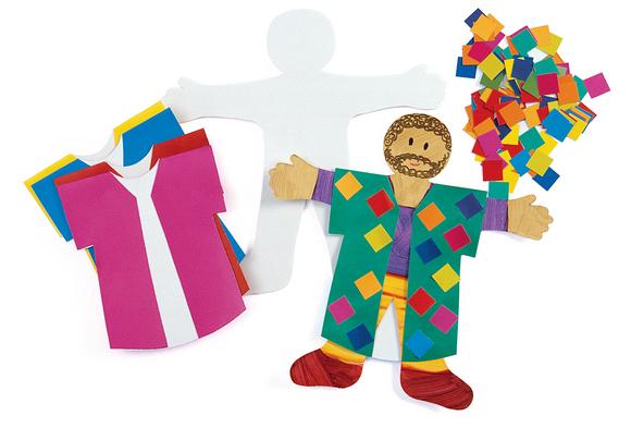 Joseph's Coat of Many Colors - Kit for 12