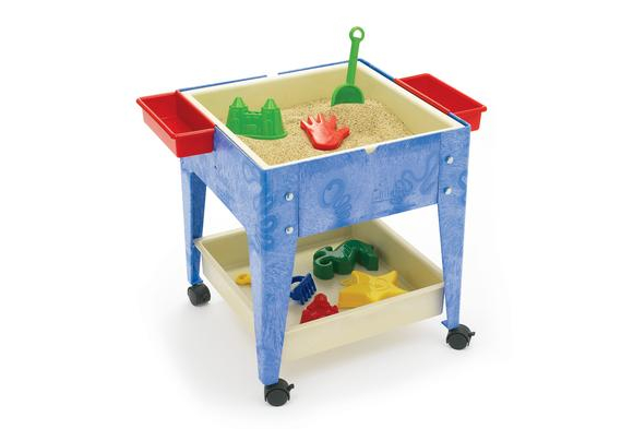 Mobile Mite Sensory Activity Table