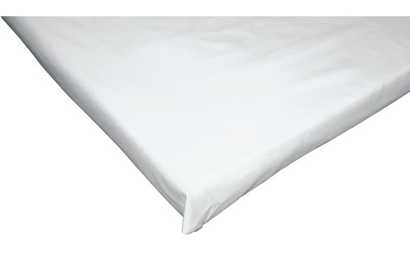 Fitted Mat Sheet Poly Cotton White for all KinderMats®