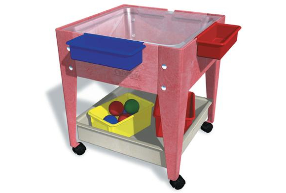 Clear View Mobile Mite - Sensory Activity Table