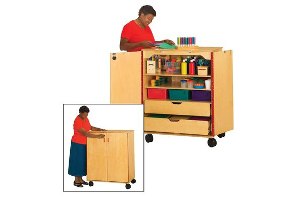 Modular Classroom Suppliers ~ Mobile storage cabinets discount school supply