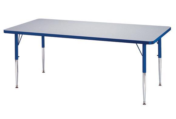 Purple Rectangle Activity Table Discount School Supply